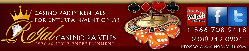 Casino Party Rentals, Royal Casino Parties