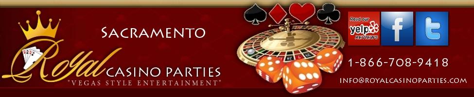 Sacramento Casino Party Rentals   Blackjack   Poker   Craps