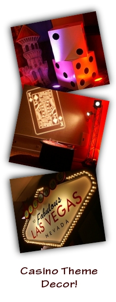 Casino Theme Decor